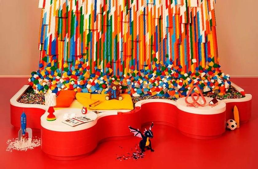 Υπάρχει ένα σπίτι στο Airbnb που είναι φτιαγμένο εξολοκλήρου από… LEGO