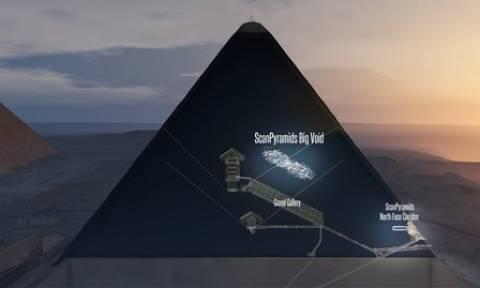 Το μυστήριο με την Πυραμίδα του Χέοπα - Τι συμβαίνει και «σφάζονται» οι αρχαιολόγοι