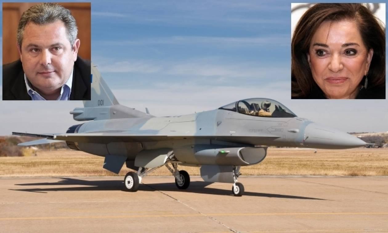Θρίλερ με τα F-16 – Καμμένος: Σταματώ κάθε διαδικασία