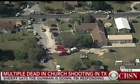 Μακελειό Τέξας: Αυτή είναι η εκκλησία που αιματοκύλησε ο δράστης (pic)