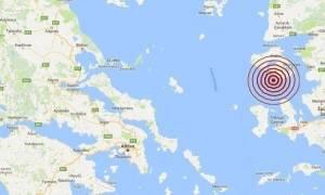 На острове Лесбос произошло землетрясение