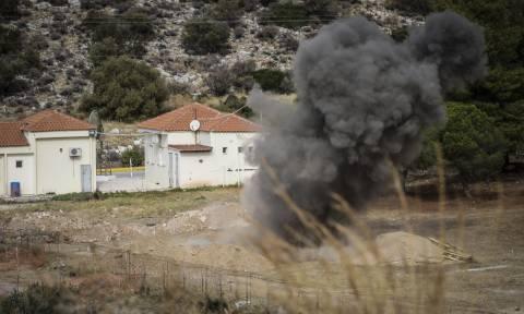 Πραγματοποιήθηκε η έκρηξη του βλήματος στην Άνω Γλυφάδα (pics&vid)