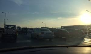 «Εφιάλτης» στην Εθνική Οδό Αθηνών - Λαμίας - Μποτιλιάρισμα άνω των 10 χλμ.