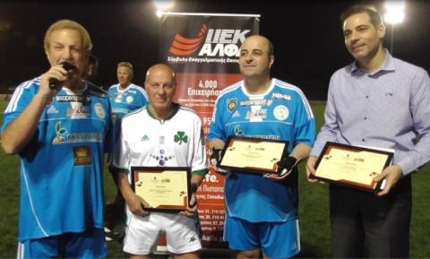 Ο δήμαρχος Αλίμου, κ. Ανδρέας Κονδύλης, βραβεύτηκε από το ΙΕΚ ΑΛΦΑ