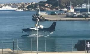 Κέρκυρα: Ξεκίνησαν οι πρώτες δοκιμαστικές πτήσεις των υδροπλάνων στον ελλαδικό χώρο (pics)