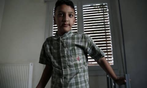 Πορεία αλληλεγγύης για τον 11χρονο Αμίρ στη Δάφνη