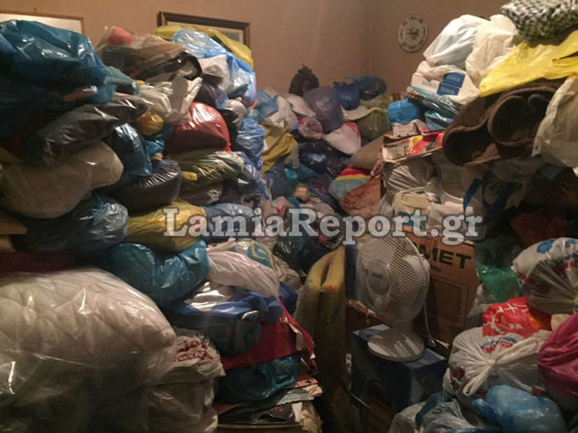 Εικόνες - σοκ από διαμέρισμα «τρώγλη» στο κέντρο της Λαμίας (pics&vid)