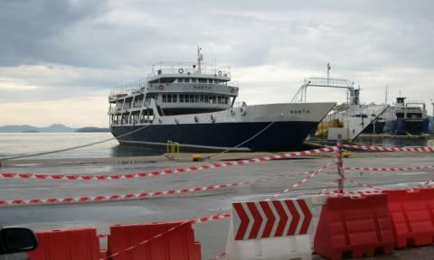 Δεμένα από σήμερα (9/11) τα πλοία στα λιμάνια της Κέρκυρας και της Ηγουμενίτσας