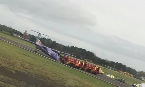Συναγερμός στο Μπέλφαστ: Αναγκαστική προσγείωση αεροσκάφους - «Έχασε» το μπροστινό λάστιχο
