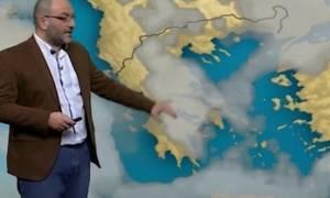 Προσοχή! Έκτακτη προειδοποίηση έντονης κακοκαιρίας από τον Σάκη Αρναούτογλου (video)