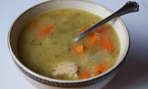 Λαχταριστή κοτόσουπα αυγολέμονο