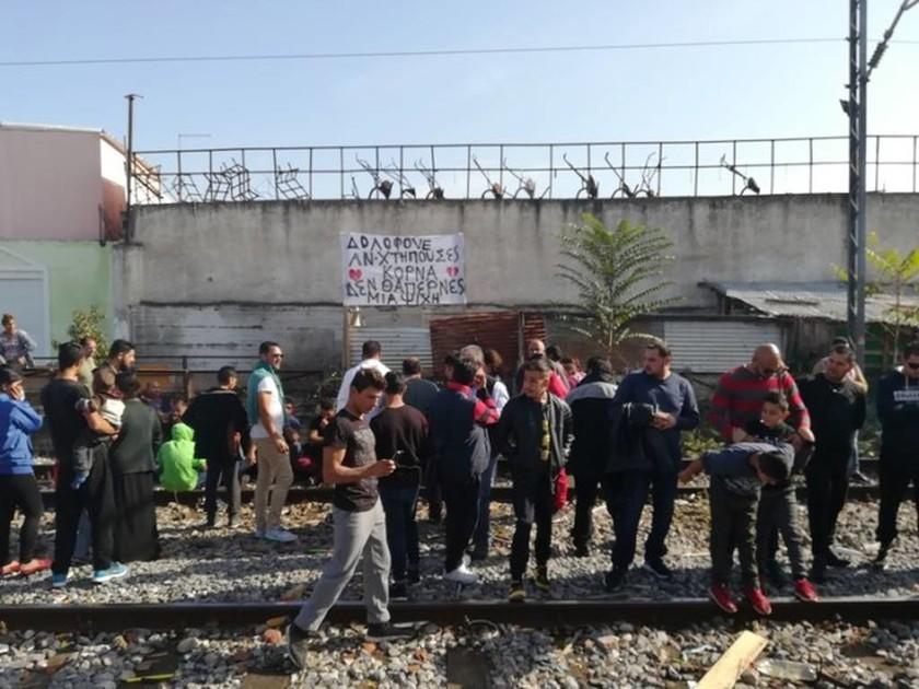 Λάρισα: Αποκλεισμός των σιδηροδρομικών γραμμών στο σημείο που σκοτώθηκε ο 10χρονος