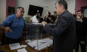 Εκλογές κεντροαριστερά - Θεοδωράκης: Συγχαίρω δημόσια τη Φώφη Γεννηματά