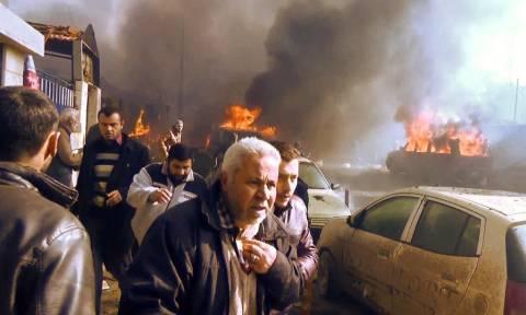 Συρία: Δεκάδες άμαχοι σκοτώθηκαν από βομβαρδισμούς στα ανατολικά της χώρας