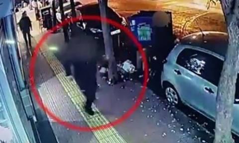 Βίντεο - ντοκουμέντο από το αιματηρό επεισόδιο στο Παγκράτι