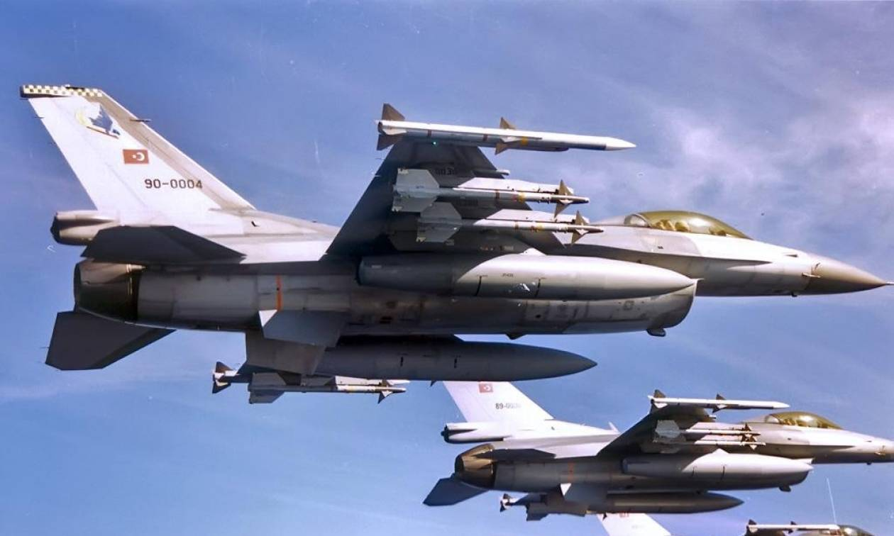 Απαράδεκτη πρόκληση: Τουρκικά F-16 πέταξαν πάνω από τη Λευκωσία