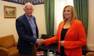 Εκλογές Κεντροαριστερά: Ανοιχτή στήριξη Γιώργου Παπανδρέου στη Φώφη Γεννηματά