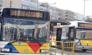 Πρωτοφανές περιστατικό στη Θεσσαλονίκη: Άγνωστος πέταξε πέτρες σε λεωφορείο του ΟΑΣΘ!