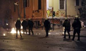 Κατάληψη στο Πολυτεχνείο από ομάδα αντιεξουσιαστών