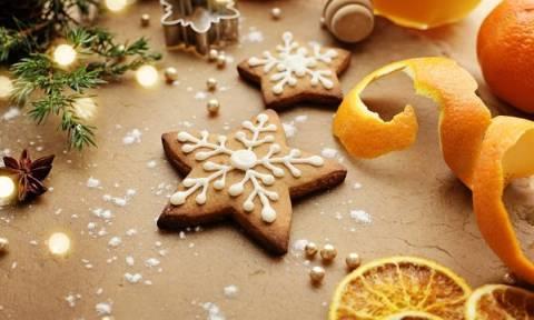 Συνταγή για πεντανόστιμα χριστουγεννιάτικα μπισκότα με πορτοκάλι και κανέλα χωρίς αβγά και γάλα!