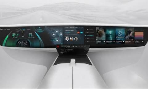 Έτσι θα είναι τα μελλοντικά ταμπλό των αυτοκινήτων μας