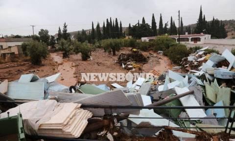 Δραματικές ώρες στη Μάνδρα: Χωρίς ρεύμα και νερό οι κάτοικοι