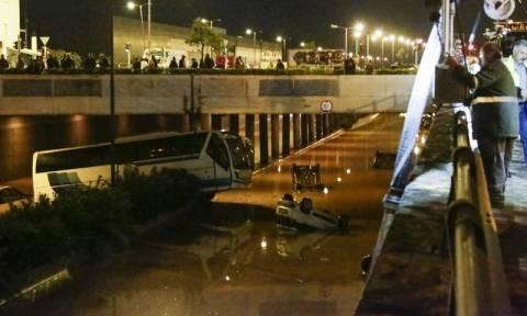 Κακοκαιρία: Άνοιξε η νέα Εθνική Οδός Αθηνών - Κορίνθου