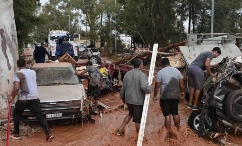 Πλημμύρες Αττική: Δημοσία δαπάνη οι κηδείες των 15 θυμάτων - Δεν έχει αναγνωριστεί ένας νεκρός