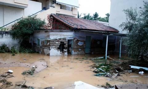 Η συγκλονιστική διάσωση τριών παιδιών στη Μάνδρα - Έκαναν ανθρώπινη αλυσίδα (vid)