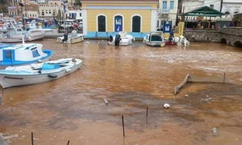 Shipping Ministry to send water trucks to Symi, after island water supply is hit by storms