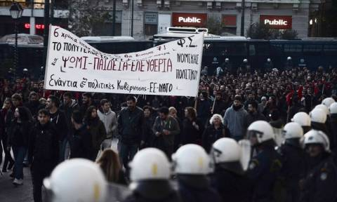 Πορεία Πολυτεχνείου 2017: Προσυγκεντρώσεις, μέτρα ασφαλείας και κυκλοφοριακές ρυθμίσεις