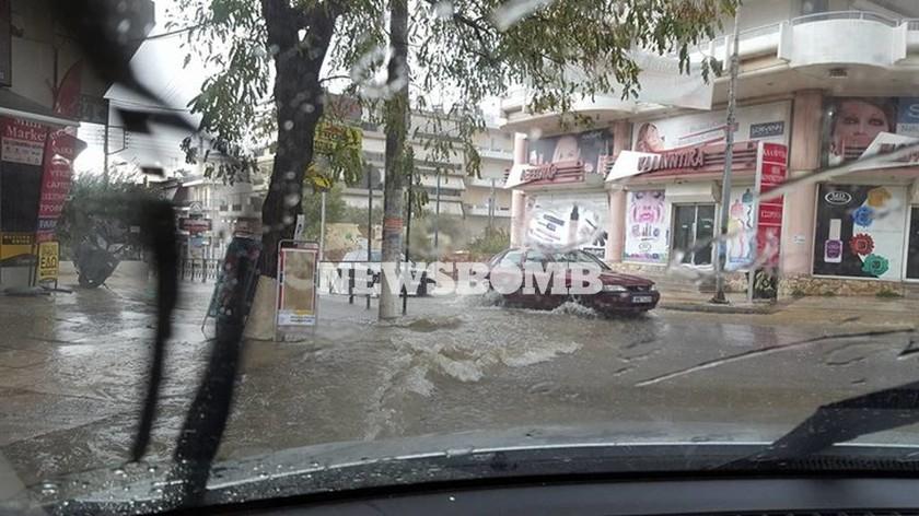 Καιρός ΤΩΡΑ: Όλη η Αθήνα στο... μάτι του κυκλώνα «Ζήνων» (pics+vids)