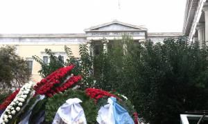Πολυτεχνείο: Ένταση πριν από την πορεία στο κέντρο της Αθήνας