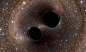 Ανιχνεύθηκαν ξανά βαρυτικά κύματα από δύο μαύρες... τρύπες!