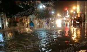 Κακοκαιρία: Οι βροχές «έπνιξαν» την Πρέβεζα - Απίστευτες εικόνες