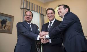 Συνάντηση Τσίπρα-Αναστασιάδη-Σίσι την Δευτέρα (20/11)
