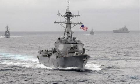 Αμερικανικό πολεμικό πλοίο συγκρούστηκε με ιαπωνικό ρυμουλκό