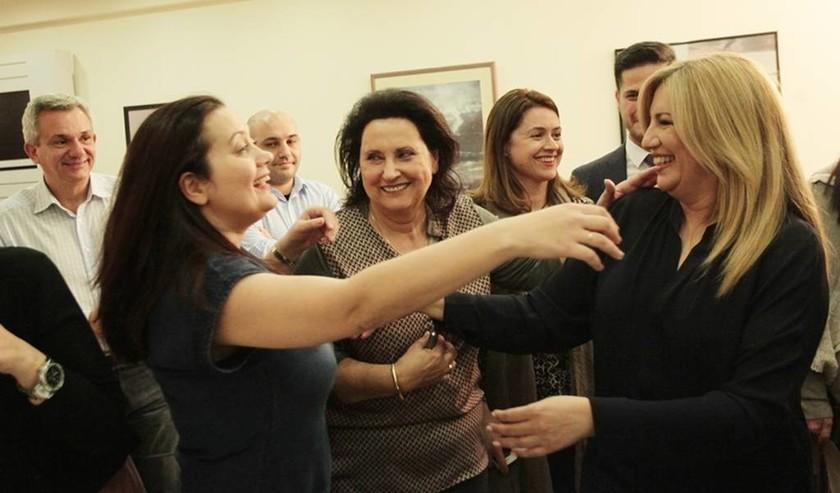 Εκλογές Κεντροαριστερά:  «Βροχή» από συγχαρητήρια τηλεφωνήματα στο γραφείο της Γεννηματά