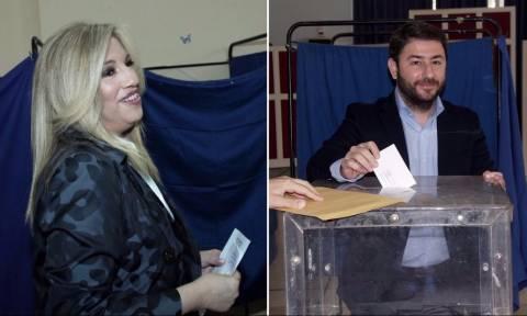 Αποτελέσματα εκλογών Κεντροαριστεράς: Σε ποιες περιοχές κέρδισε η Φώφη σε ποιες ο Ανδρουλάκης