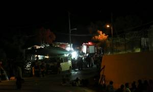 Μυτιλήνη: Επεισόδια στο χώρο φιλοξενίας ανήλικων προσφύγων στη Μόρια