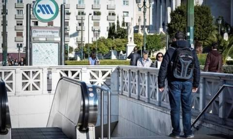 Завтра в Афинах бастует метро