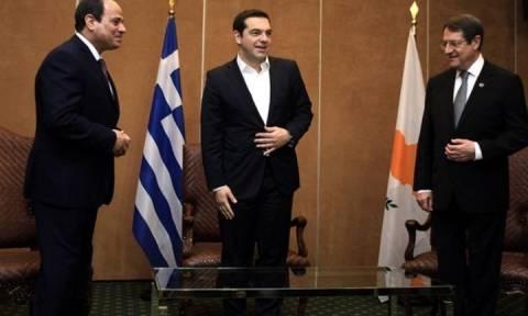 Τριμερής Ελλάδος - Κύπρου - Αιγύπτου: Στο επίκεντρο οικονομία, τουρισμός, μεταφορές και ενέργεια