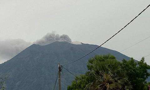 Εξερράγη το ηφαίστειο Αγκούνγκ στο Μπαλί (vid)