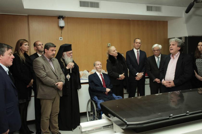 Δωρεά της οικογένειας Αγγελόπουλου στο αντικαρκινικό νοσοκομείο «Άγιος Σάββας»