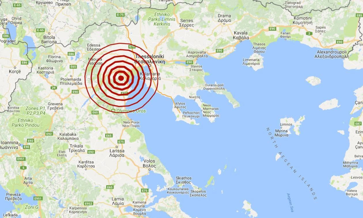 Σεισμός κοντά στη Θεσσαλονίκη - Αισθητός σε πολλές περιοχές (pics)