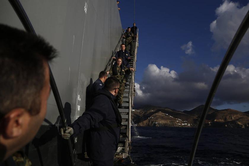 Σε έξι ακριτικά νησιά η υγειονομική ομάδα των Ενόπλων Δυνάμεων