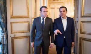 Τι συζήτησαν Τσίπρας-Μακρόν στο Παρίσι (pics-vid)