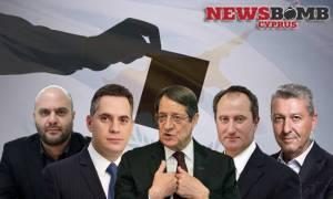 Δημοσκόπηση: Δέκα μονάδες μπροστά ο Αναστασιάδης - Αύξησε ποσοστά ο Μαλάς (ΠΙΝΑΚΕΣ)