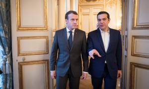 Greek programme, French investments and the future of Europe dominated Tsipras-Macron meeting