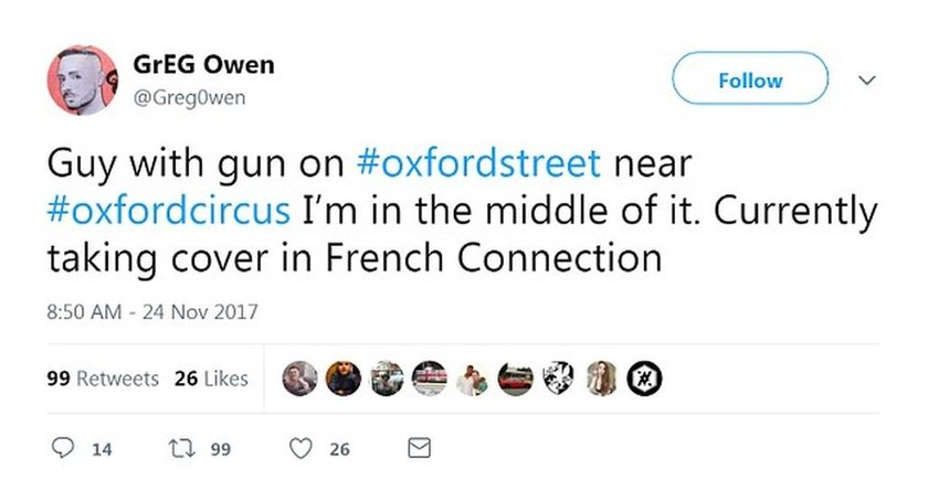 Συναγερμός Λονδίνο: Εκκενώθηκε ο σταθμός Oxford Circus - Μαρτυρίες για πυροβολισμούς - LIVE εικόνα